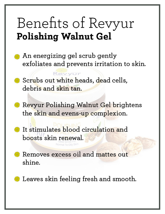 Revyur Polishing Walnut Gel-500 gm-2