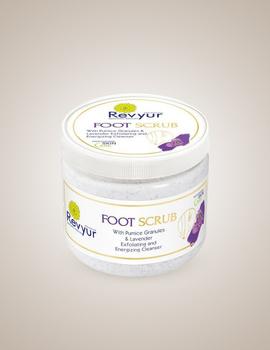 Revyur Foot Scrub With Pumice Granules & Lavender-Revyur-75-sm