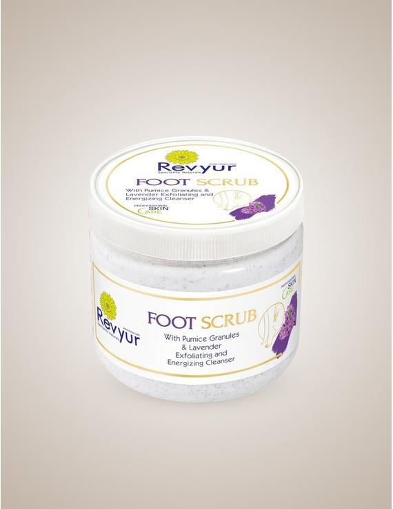 Revyur Foot Scrub With Pumice Granules & Lavender-Revyur-75