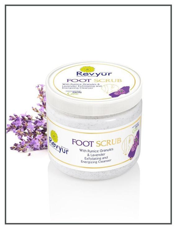Revyur Foot Scrub With Pumice Granules & Lavender-200 gm-2