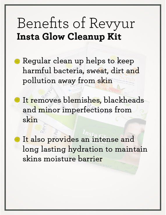 Revyur Insta Glow Cleanup Kit-1