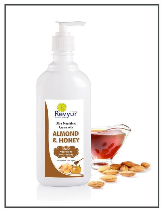 Revyur Ultra Nourishing Cream With Almond & Honey-150 gm-2