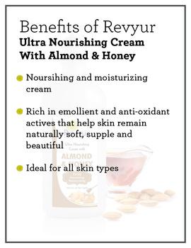 Revyur Ultra Nourishing Cream With Almond & Honey-150 gm-1-sm