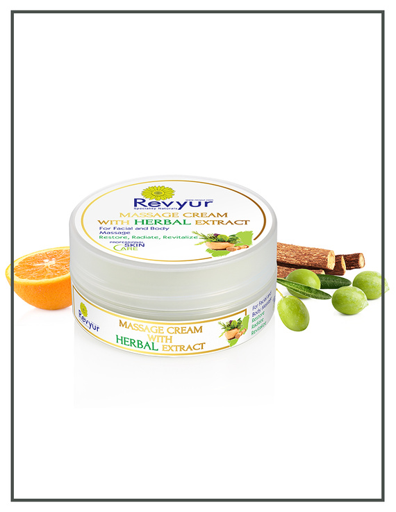 Revyur Massage Cream With Herbal Extract-500 gm-2