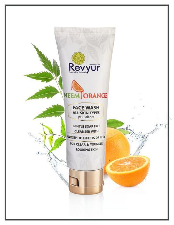 Revyur Neem Orange Face Wash-2