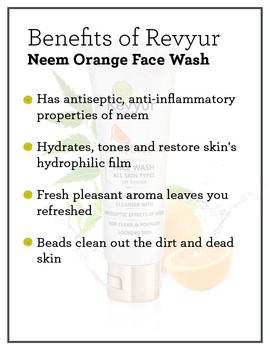 Revyur Neem Orange Face Wash-1-sm