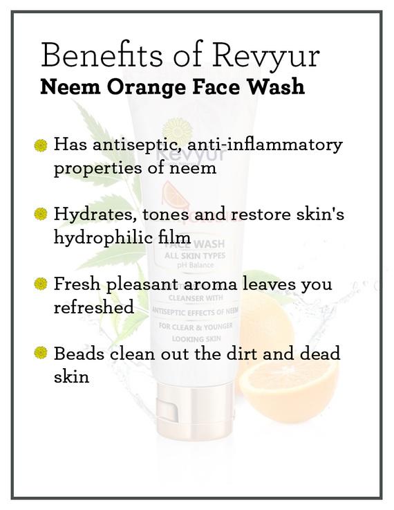 Revyur Neem Orange Face Wash-1