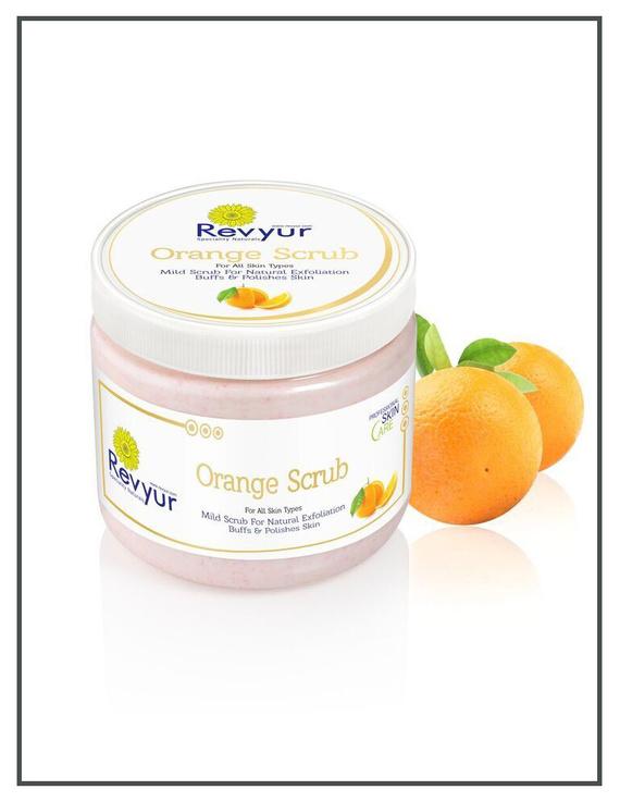 Revyur Orange Scrub For All Skin Types-500 gm-2