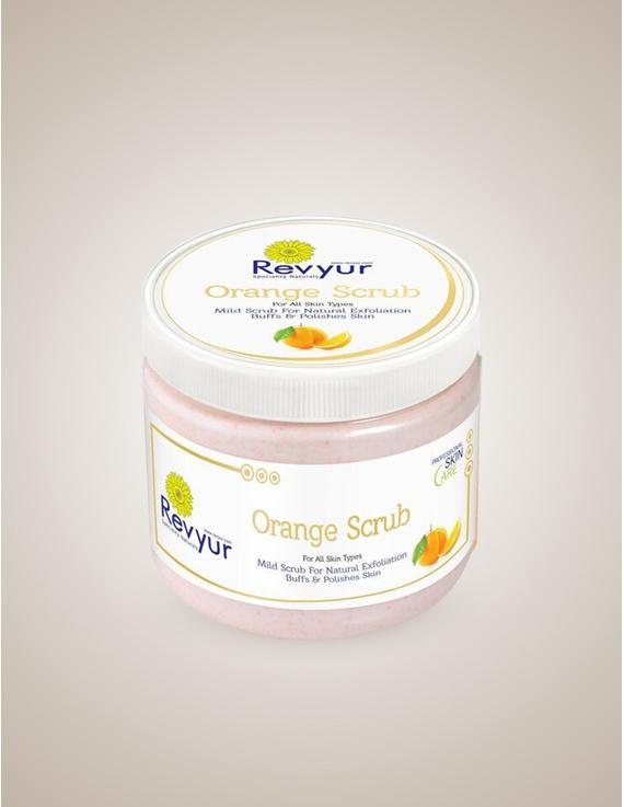 Revyur Orange Scrub For All Skin Types-Revyur-64
