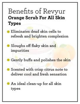 Revyur Orange Scrub For All Skin Types-500 gm-1-sm