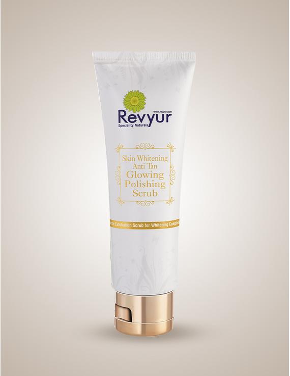 Revyur Skin Whitening Anti Tan Glowing Polishing Scrub-Revyur-16