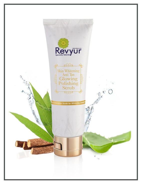 Revyur Skin Whitening Anti Tan Glowing Polishing Scrub-2