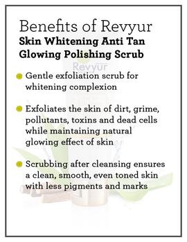 Revyur Skin Whitening Anti Tan Glowing Polishing Scrub-1-sm