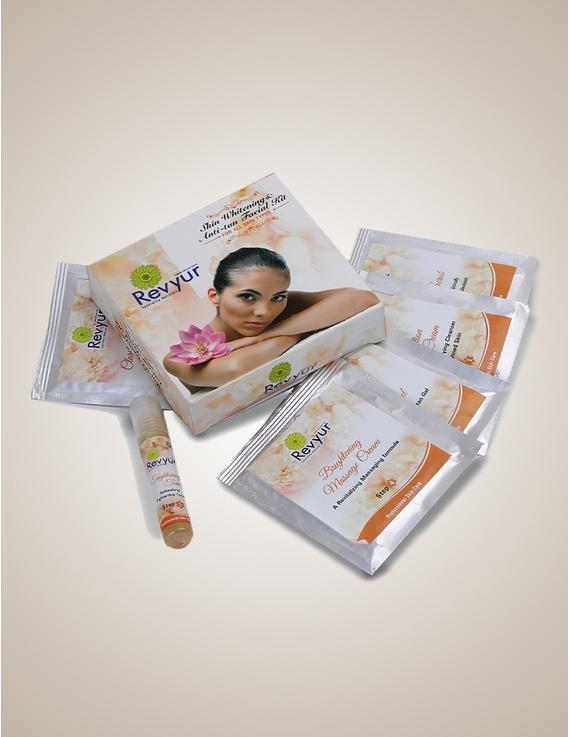 Revyur Skin Whitening & Anti-Tan Facial kit-Revyur-83
