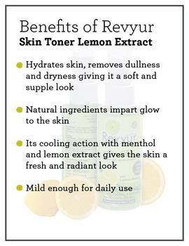 Revyur Skin Toner Lemon Extract-1-sm