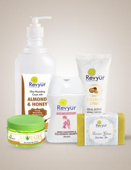 Skin and Hair Care Combo with benefits of Lemon Grass, Walnut, Aloe Vera, Almon and Honey-combo2-sm