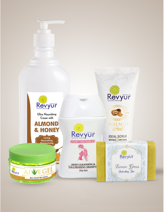 Skin and Hair Care Combo with benefits of Lemon Grass, Walnut, Aloe Vera, Almon and Honey-combo2