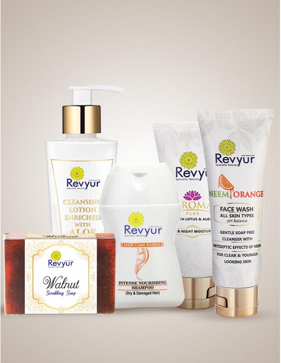 Skin and Hair Care Combo with benefits of Neem, Orange, Walnut and Aleo Vera-Combo-1