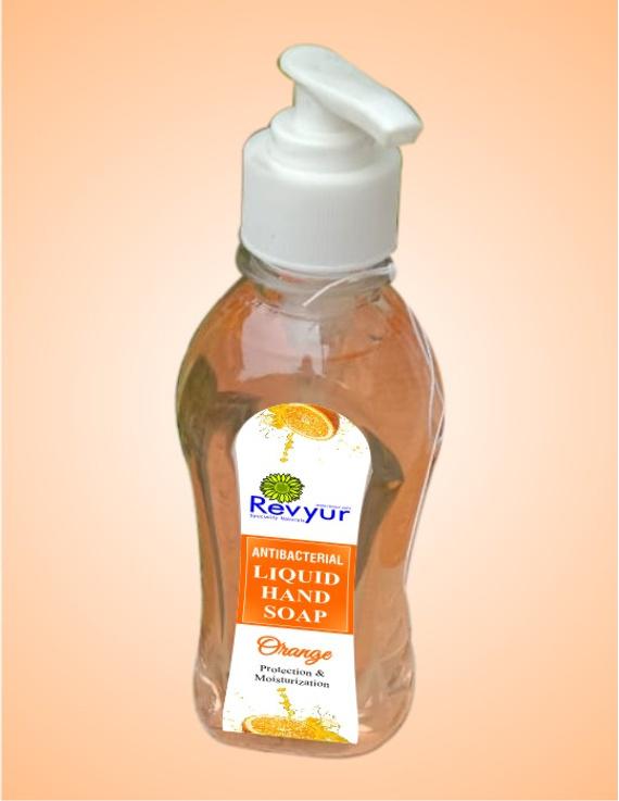 Antibacterial Liquid Hand Wash Orange-1