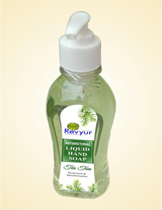 Antibacterial Liquid Hand Wash Tea Tree-HW_TeaTree