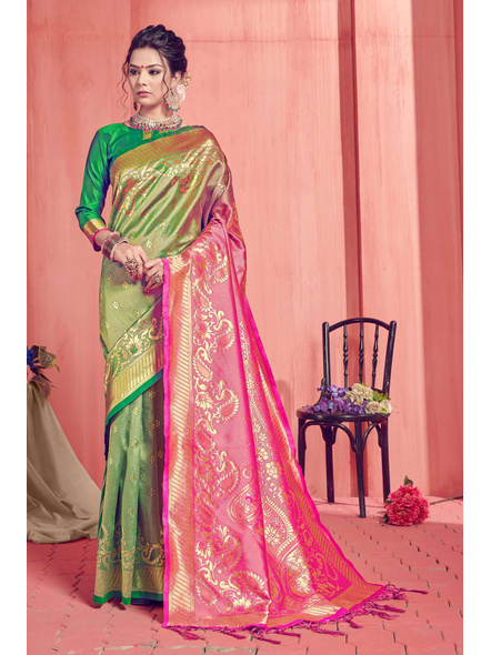 Banarasi Silk Saree-10514920