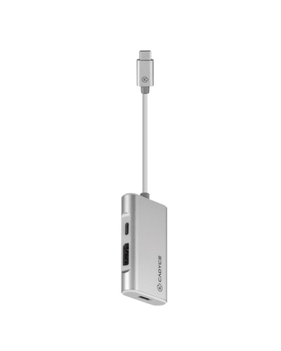 USB-C™ to Dual DisplayPort™ Adapter with PD Charging. (4K@60Hz)-3