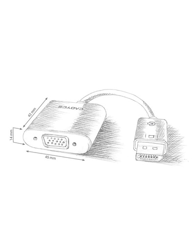 DisplayPort to VGA Adapter-2