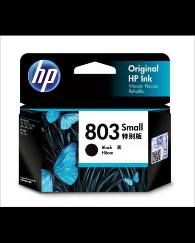 HP 803 Small Black Ink Cartridge-SHRO1301