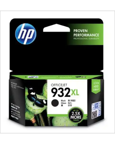 HP 932XL High Yield Black Original Ink Cartridge-SHRO500