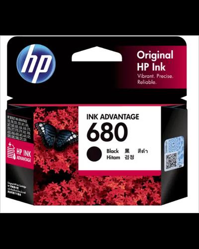 HP 680 Black Original Ink Advantage Cartridge-SHRO504