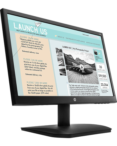 HP V190 18.5-inch LED Backlit Monitor-1