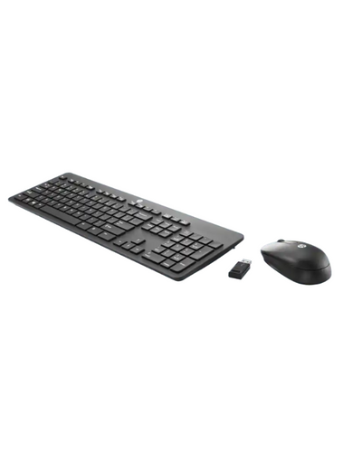 HP Slim Wireless Keyboard and Mouse-1