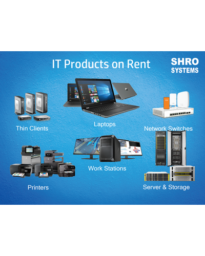 IT Products on Rent-SHRO1601