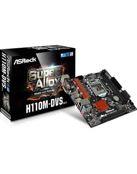 AsRock H110M-DVS R3 Mother Board