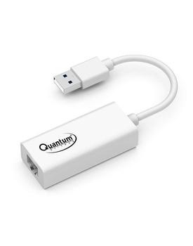 Quantum QHM8106 USB to RJ45 Ethernet LAN Adapter