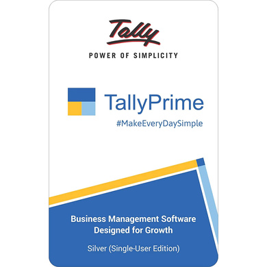 TallyPrime Silver-silver