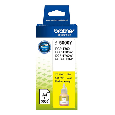 Brother BT5000 Yellow Ink-BT5000Y