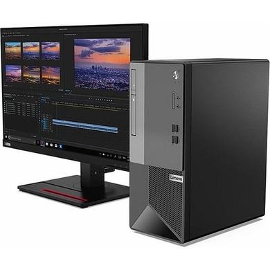 """Lenovo V50 T 11HD0028IH Desktop (i5 10th GEN / 8GB RAM / 1TB HDD / DOS /21.5"""" Monitor / 3years warranty)-11HD0028IH"""
