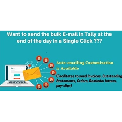 Automatic Bulk E-mailing of transactions in a single click-BulkEmail