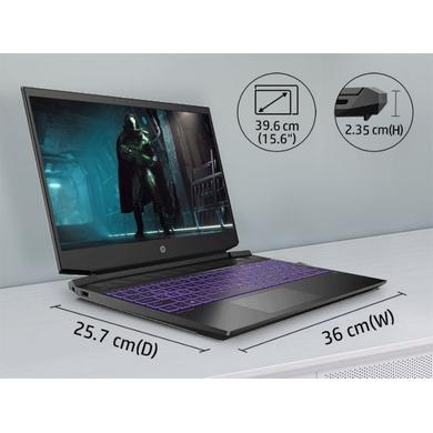 "HP Pavilion Gaming Laptop,15-EC1050AX,Ryzen 5-4600H 15.6""(39.62cms) 144 Hz FHD Screen, 8 GB RAM, 4 GB NVIDIA 1650ti Graphics, 1TB HDD + 256GB SSD GB SSD, Windows 10 Home (With Bag)-2"