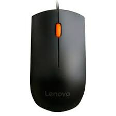 Lenovo 300 GX30M39704 Wired USB Mouse (Black)-1