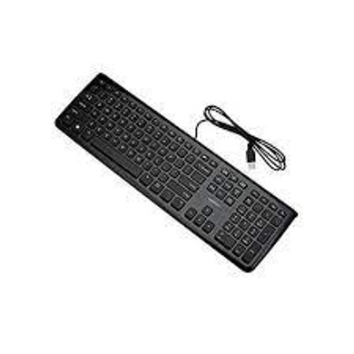 Lenovo K4802 GY40T70368  USB Wired Keyboard 1.5 m Cable (Black)-LENOVOK4802GY40T70USBKEYBOARD