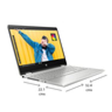 "HP Pavilion 14-dw1040TU x360 (2021) 14"" (35.56cms) FHD Touchscreen Laptop, 11th Gen Core i7, 8 GB RAM, 512GB SSD, 2-in-1 Convertible, Windows 10, MS Office, Finger Print Reader-1040TU"
