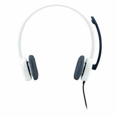 Logitech H150 Stereo Headset (Cloud White)-2