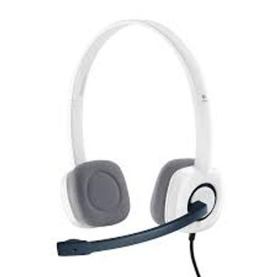 Logitech H150 Stereo Headset (Cloud White)-H150