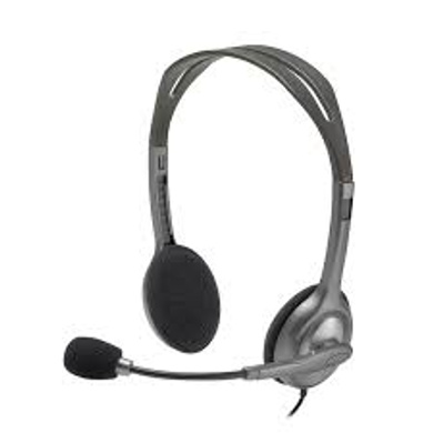Logitech H110 Wired headset, Stereo Headphones-2