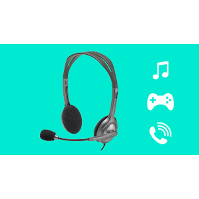 Logitech H110 Wired headset, Stereo Headphones-H110