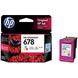HP 678 Color Ink Cartridge-1-sm