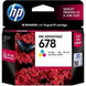 HP 678 Color Ink Cartridge-678c-sm