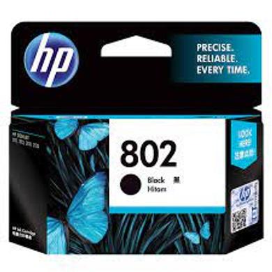 HP 802 Small Ink Cartridge - Black-802b